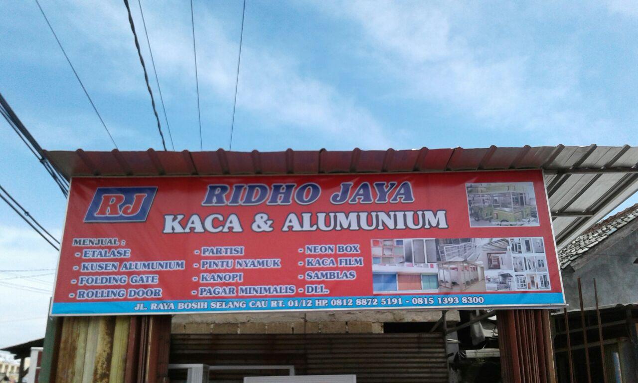 Tentang Ridho Jaya | Kaca & Alumunium